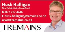 Husk Halligan c/- Tremains Taupo